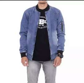 Jaket bomber jeans/denim(levis)