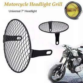 Motorcycle Universal Round Headlight Grill