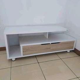 Lemari tv kecil panjang 120 x L 40 x T 55 cm