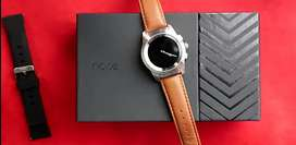 Noise fusion hybrid 2 in 1 watch wireless charging