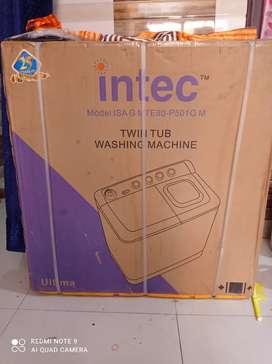Intec Twin tub washing machine 8kg