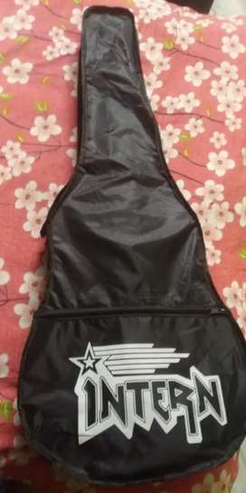 Intern INT-38C Acoustic Guitar Kit , with bag , strings,pick and Strap