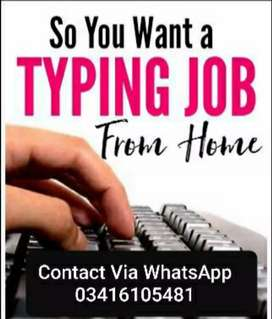 Online typing job home based .7677897