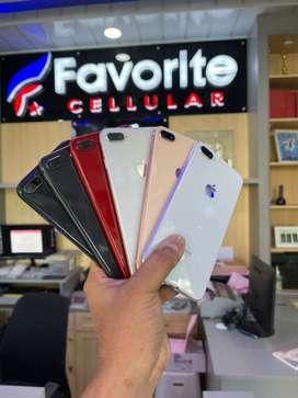 Iphone 8+ 64Gb (ORI) Mulus Fullset GARANSI s/d 3 BULAN
