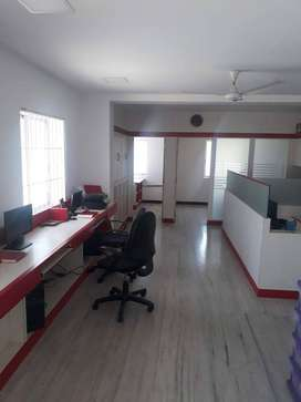 Avinashi road 1000 sq ft furnished office with 10 work stations rent