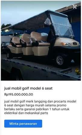 Jual mobil golf 8 siter
