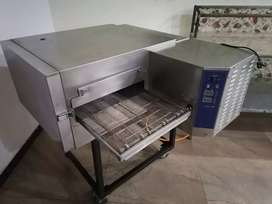 Pizza oven and dough maker