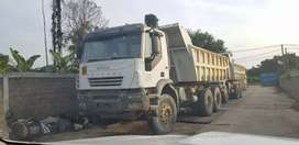dumptruk OB iveco tracker 380