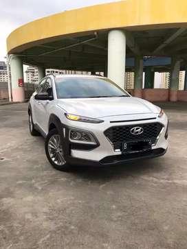 Km 11rb Hyundai Kona 2.0 AT Th 2019 White On Black Perfect Like New!!