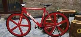 Jual cepat sepeda Fixie BU