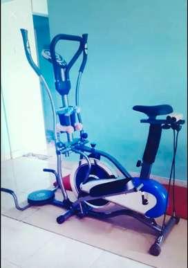 Sepeda fitnes murah orbitrack bisa cod