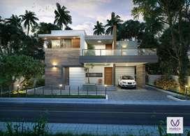 designed 3bhk villa for sale