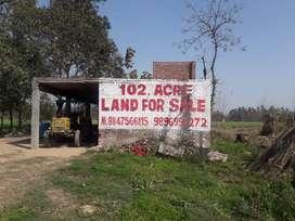 Agriculture Land-102 Acres@Tehsil Naraingarh Distt. Ambala