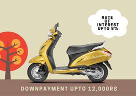 New Year Offer,Get Honda Activa 5G with Lowest Down Payment