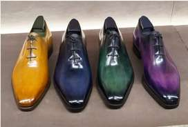 Italian models Premium mens leather shoes designer shoes