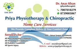 physiotherapy at home ! guaranteed result will seen in any disease
