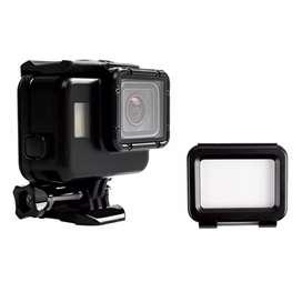 Vamson Touchscreen Waterproof Case 60m for GoPro Hero 5/6/7 - Black