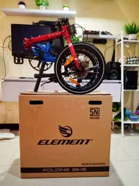 Element troy red blue chromoly