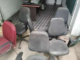 110 office furniture all five chare