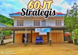 Disewakan DiKontrakan Ruko Strategis 2Lantai Murah Jalur 2 Ringroad