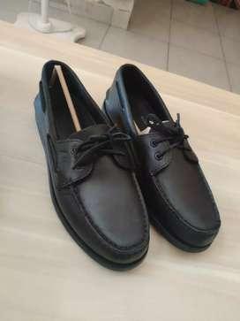 Sepatu Sperry two eye black