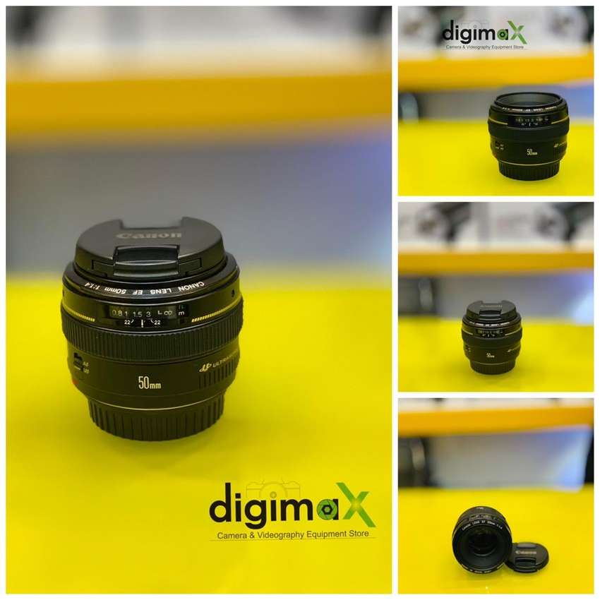 Canon 50 mm 1.4 slightly used 0