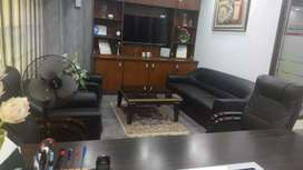 Defence Dha phase 6 Shahbaz commercial Furnish office for rent