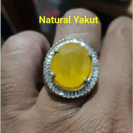 Natural Yellow safier / yakut
