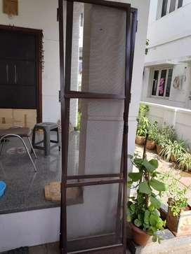 Mosquito mesh double door