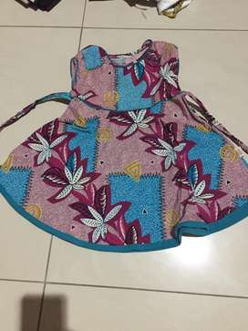 Dress batik babygirll
