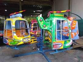 wahana mainan Odong odong EK komedi putar heli mini coaster koin