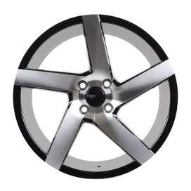 jual velg mobil original hsr wheel ring 17 untuk agya ayla calya mazda