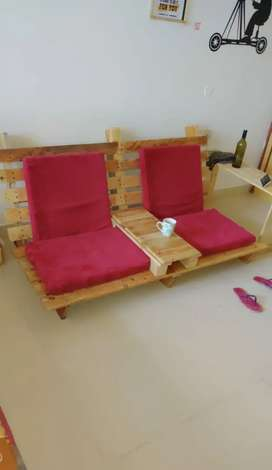 Hand made crate Sofa for Sale !!