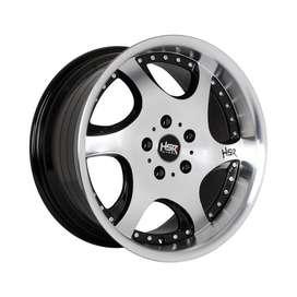 Modifikasi Mobil Rush, Ertiga, dll Ring 17 HSR Wheel Tipe GANGNAM