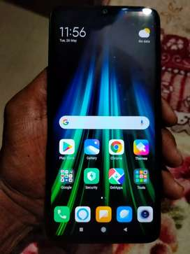Mi note 8 pro 6gb 64gb only two month used in new good condition