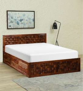 Bed king size. Draw Storage.Brand new PepperF piece in Sheesham wood.