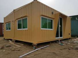 shower container porta cabin prefab steel structure maker in Lahore