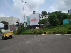 9.25 cent commerial land at kakkanad 2 main roads front