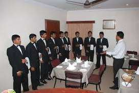 Hiring of Boys in 5 Star hotel for Waiter Staff