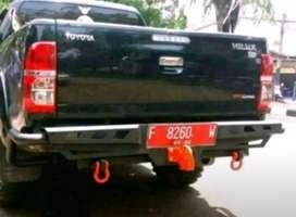 Jual bumper belakang hilux model mcc