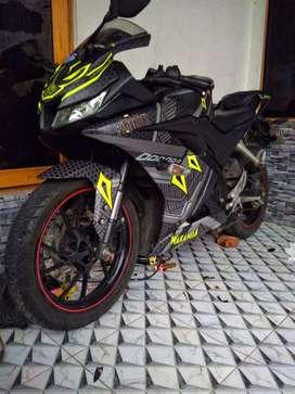 Yamaha R15 V3 Hitam Doff