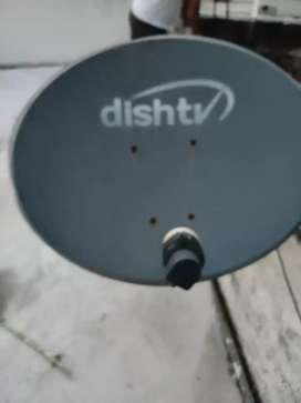 Dist TV antenna sirf chatri hai