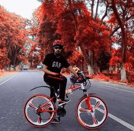 Dzire cycle 21 gear fat foldable new model cycle available.