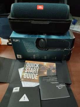 Numpang Jual speaker JBL Flip 5 baru dipake 1bln lengkap