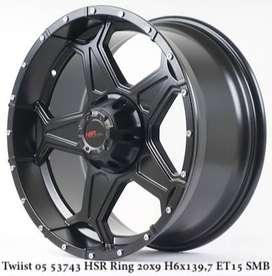 Velg racingTWIIST 05 53743 HSR R20X9 H6X139,7 ET15 SMB