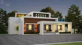 Contemporary style modern villa
