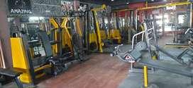 Proper  Running gym 100+ members gym fee 1000