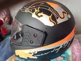 New Helmet Warner