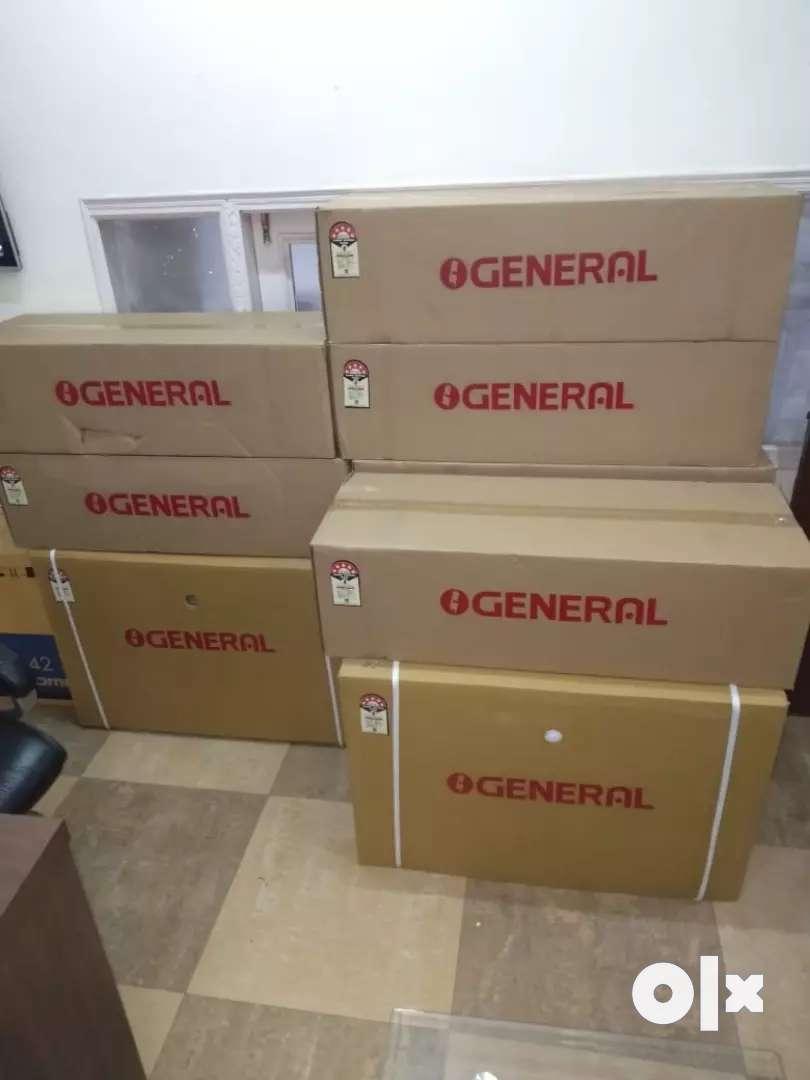 O General Ac with warranty 1.5 tonn split 5 star in 29999/- 0