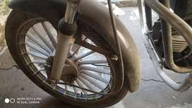 Hero honda splendar wheels